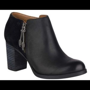 Sperry Topsider Dasher Lille Leather Ankle Booties